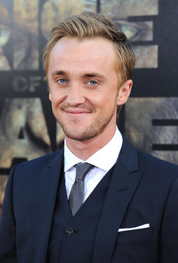 Tom Felton at the California premiere of &quot;Rise Of The Planet Of The Apes.&quot;